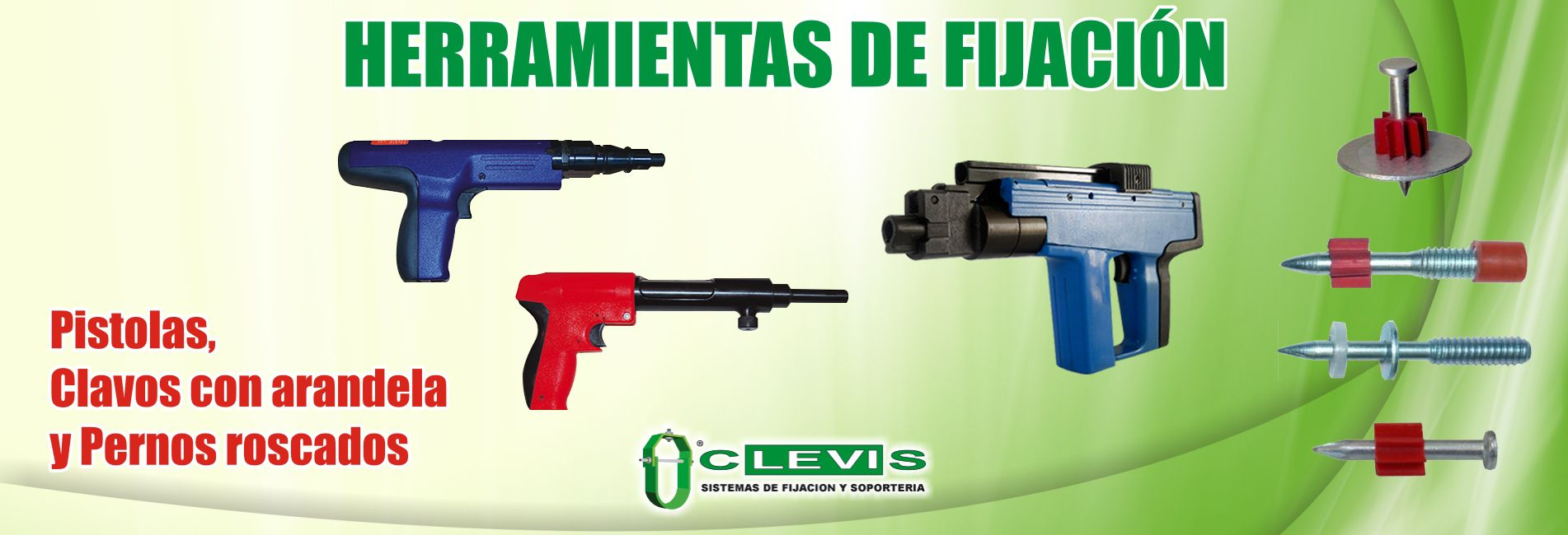 Clevis Monterrey | Sistemas de fijación y soporteria